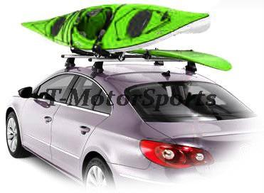 2 Pairs Universal Roof J Rack Kayak Boat Canoe Car SUV
