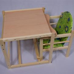 High Chair Converts To Table And Sure Fit Covers Walmart Feed Me Now Wooden Toddler Child 39s