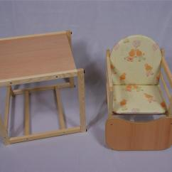 Wooden High Chair Uk Leg Floor Protectors Feed Me Now Toddler Child 39s Table