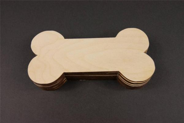 Large Wooden Dog Bones For Crafts - Year of Clean Water