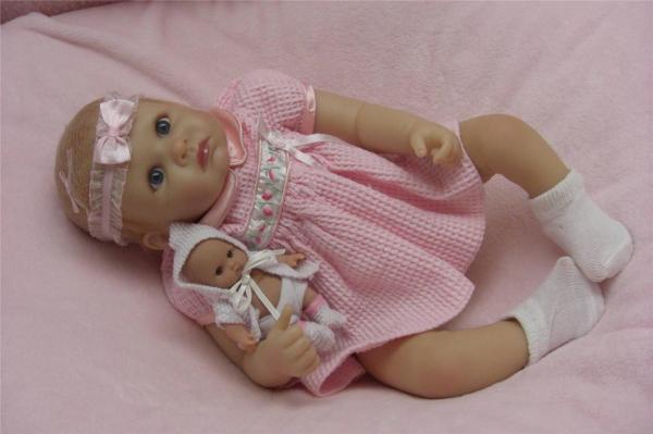 "Ashton Drake Real ""little Rose Petal"" Baby Doll"