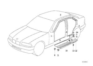 1994 Bmw E36 Door Diagram, 1994, Free Engine Image For User Manual Download