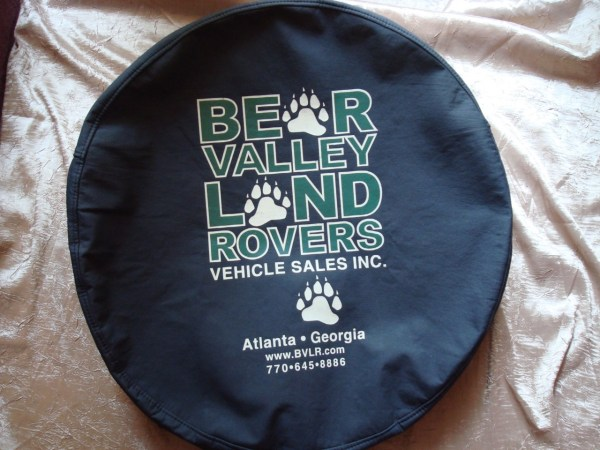 Land Rover Discovery Ii Spare Tire Cover Heavy Duty