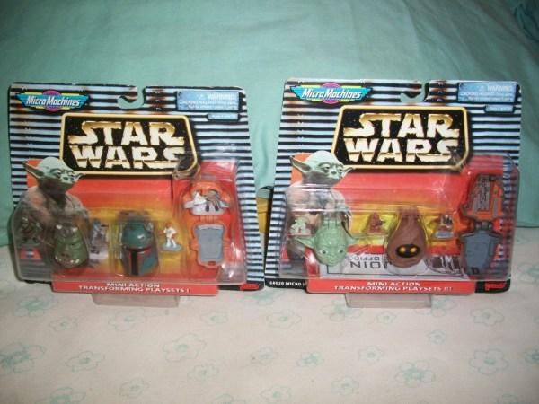 Star Wars Micro Machines Mini Heads Sets 1 & 3 Galoob