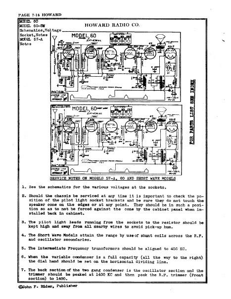 Beitmans Tube Radio Diagrams Amplifier Servicing