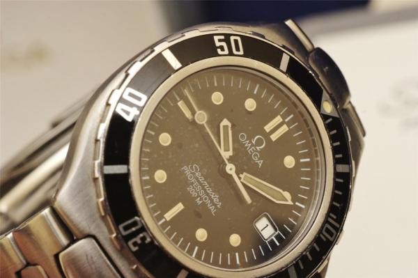 Omega Seamaster Professional 200m Ss Box Included