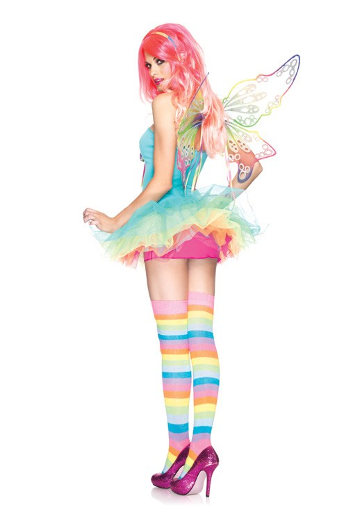 83917 3PC Rainbow Fairy Candy Colored Sexy Cute Womens