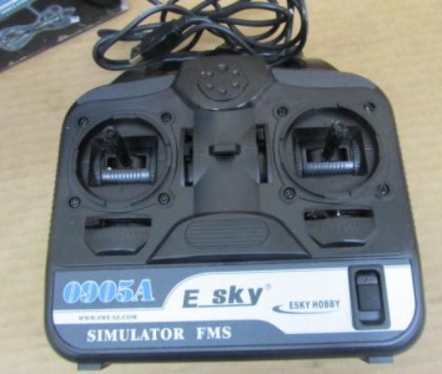 Esky Ek2 0905a Flight Simulator Fms Remote Control Helicopters Planes