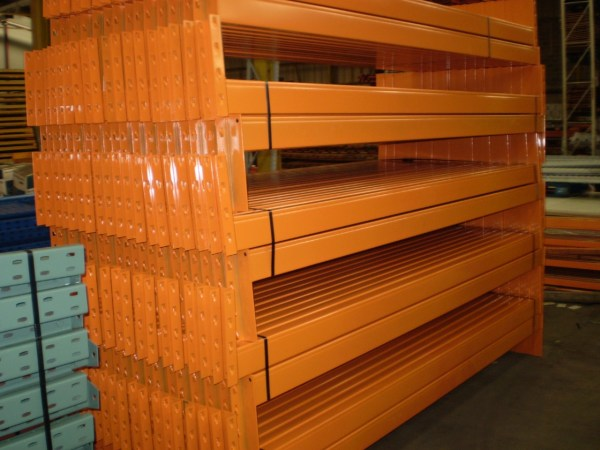 Used Dexion Pallet Racking Frames 3m High Rack Shelf