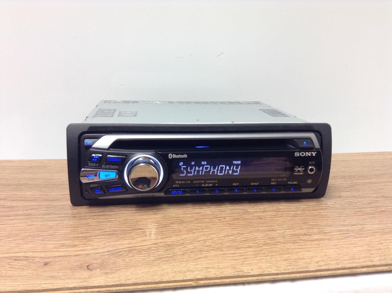 sony xplod radio wiring 7 pin trailer diagram mex bt2700 car cd mp3 aux in bluetooth player