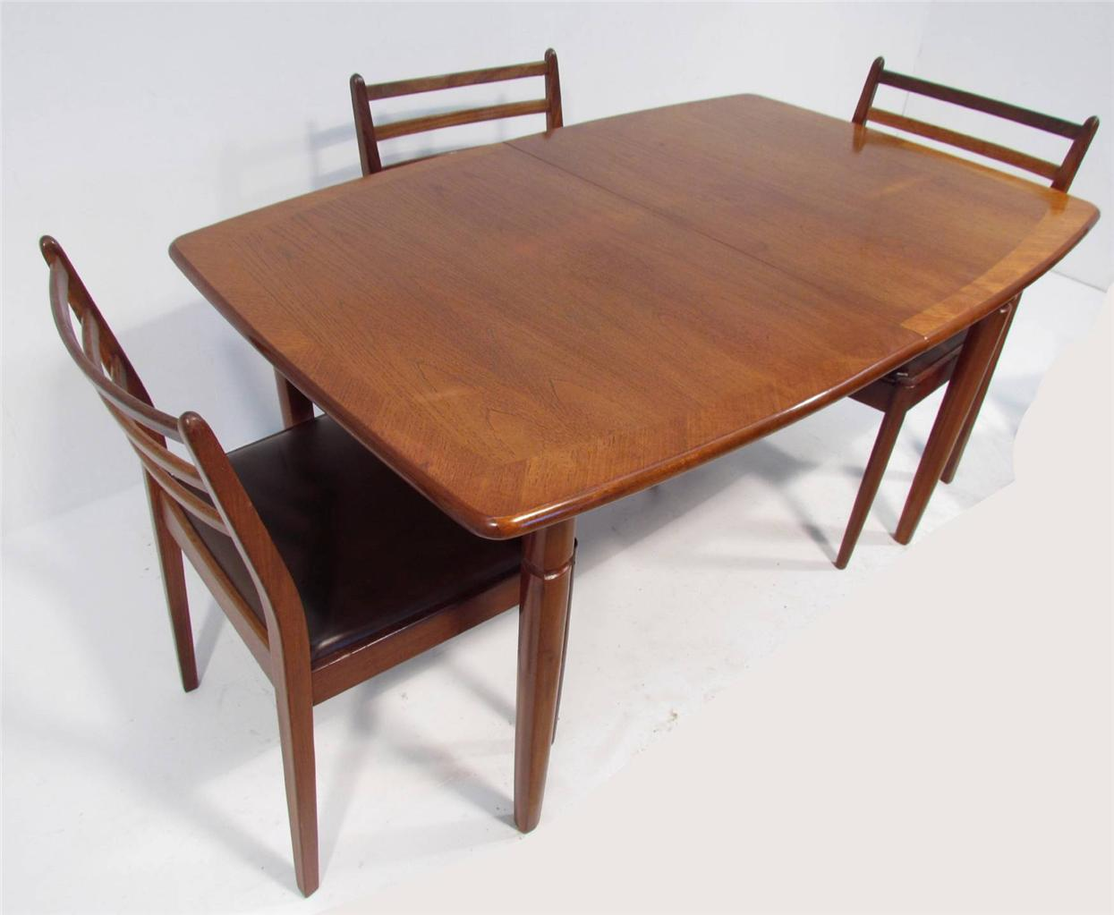 Dining Table And 6 Chairs A Good Retro Teak Dining Table And Six Chairs By G Plan Ebay