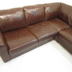 Vine Brown Leather Sofa Ebay Rattan Garden Corner Set Grey A Large Premium Very Comfy