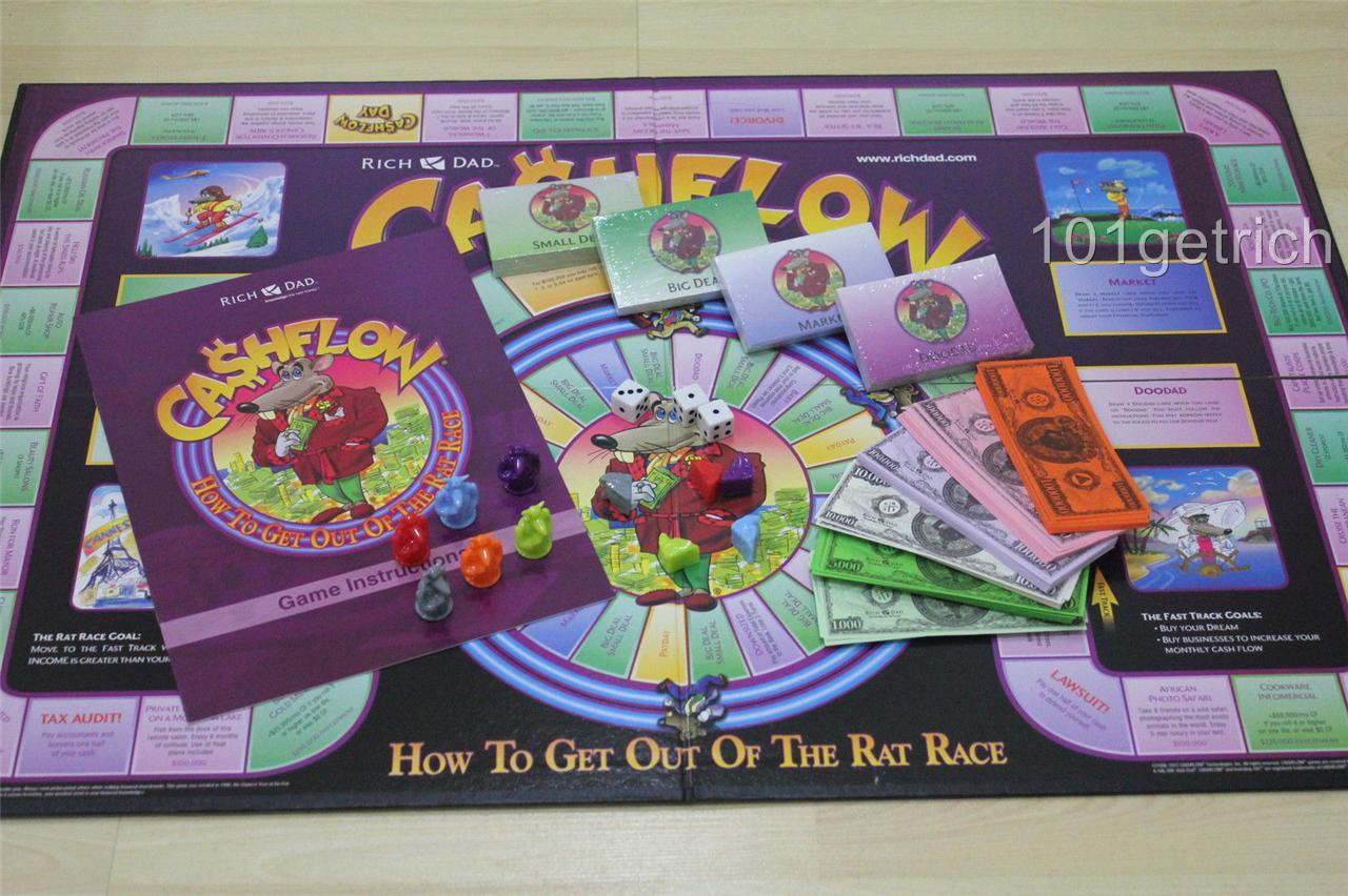 Brand New Classic Cashflow 101 Amp 202 Rich Dad Board Game