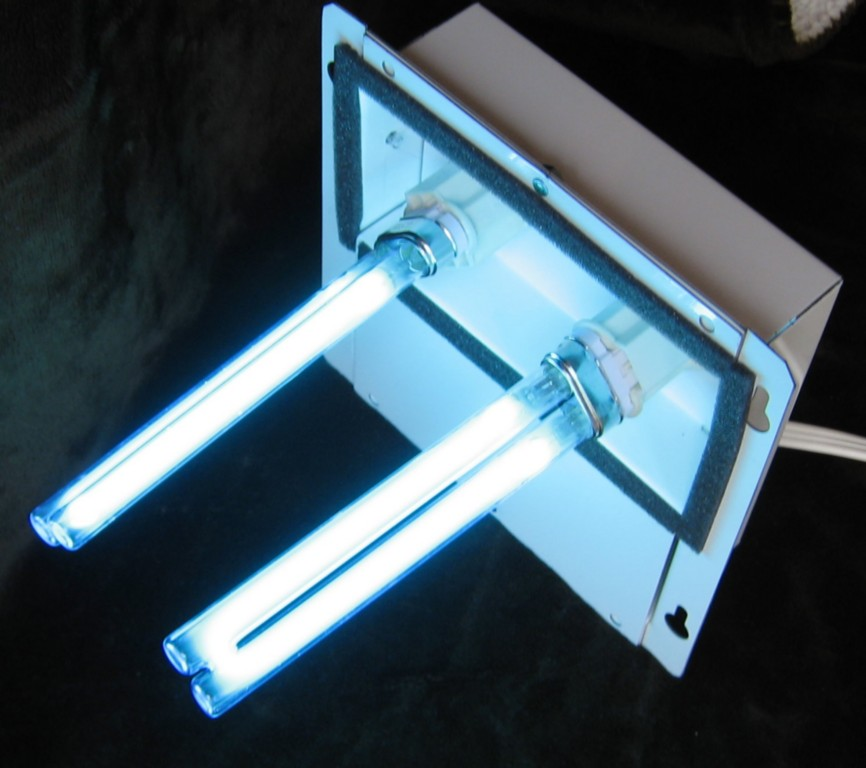 UV LIGHT FOR HOME FURNACE AIR DUCTS