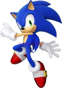 Choose Size Sonic Decal Removable Wall Sticker Home Decor ...