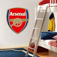 Choose Size - ARSENAL LOGO Decal Removable WALL STICKER ...