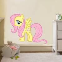 Fluttershy My Little Pony Decal Removable Wall Sticker ...