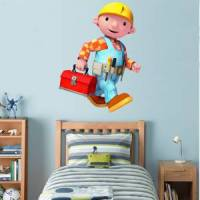 BOB THE BUILDER Decal Removable WALL STICKER Home Decor ...