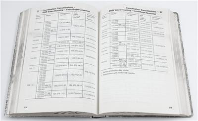 OE 1977 MERCEDES TECHNICAL DATA ADJUSTMENT VALUES