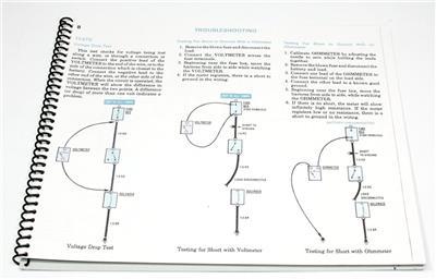 1981 MERCEDES W 107 380 SL 380 SLC PAPER ELECTRICAL