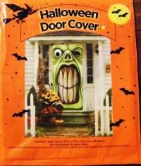 Halloween Ghoul Door Cover Window Wall Mural Decoration Prop