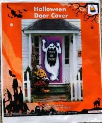 Halloween Spooky Ghost Door Cover Window Wall Mural Creepy ...