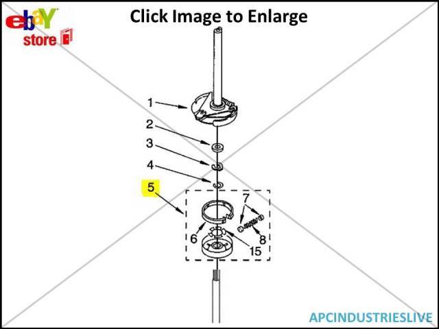 GENUINE WHIRLPOOL WASHING MACHINE CLUTCH ASSEMBLY PART