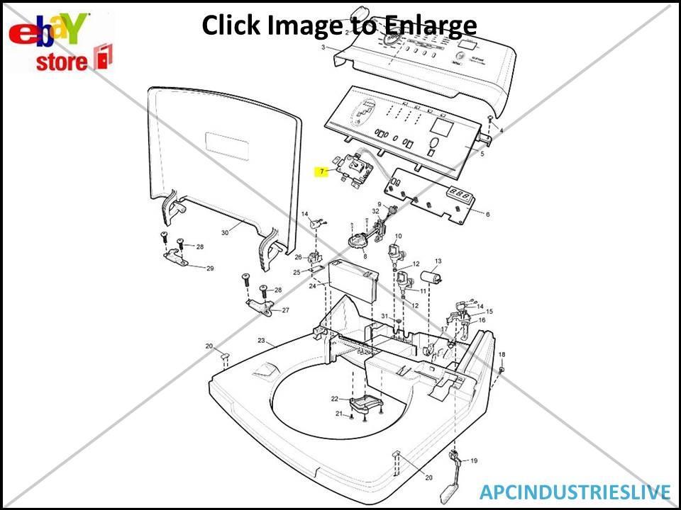 GENUINE SIMPSON WASHING MACHINE POWER BOARD GENUINE PART