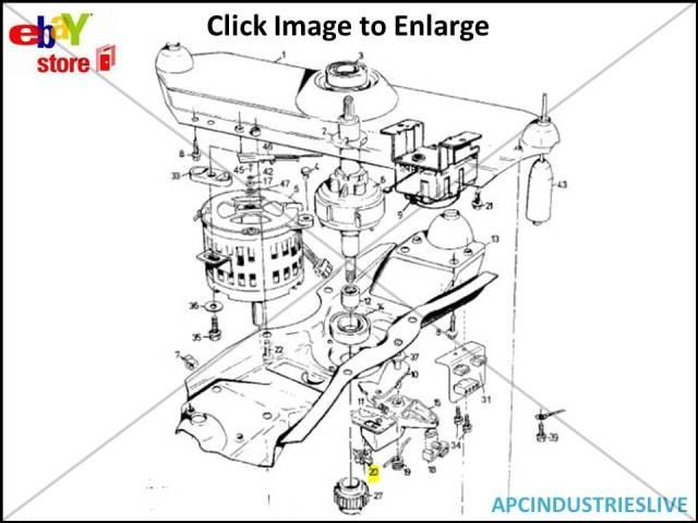 GENUINE HOOVER WESTINGHOUSE SIMPSON WASHING MACHINE CLUTCH