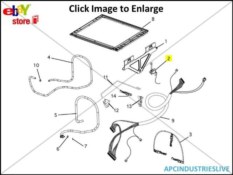 GENUINE FISHER & PAYKEL DISHWASHER TOP DRAW ACTUATOR KIT