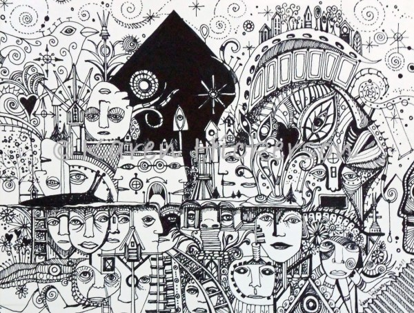 Pen and Ink Drawing Art