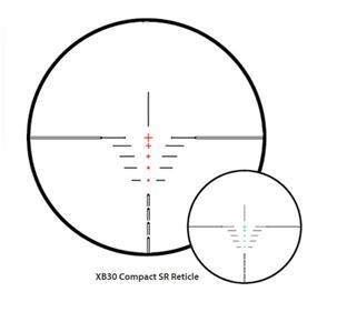 Hawke 1.5-5x32 IR XB SR 30mm Crossbow scope + Flip up lens