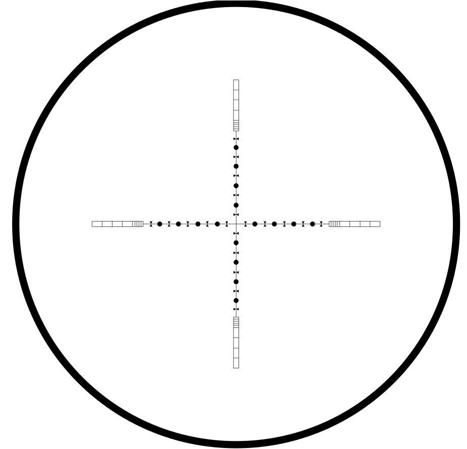 Hawke Vantage 3-12x44 SF 10x Half Mil Dot Reticle Rifle