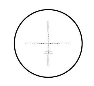 Hawke Airmax 4-12x50 etched glass AMX Mil Dot Reticle AO