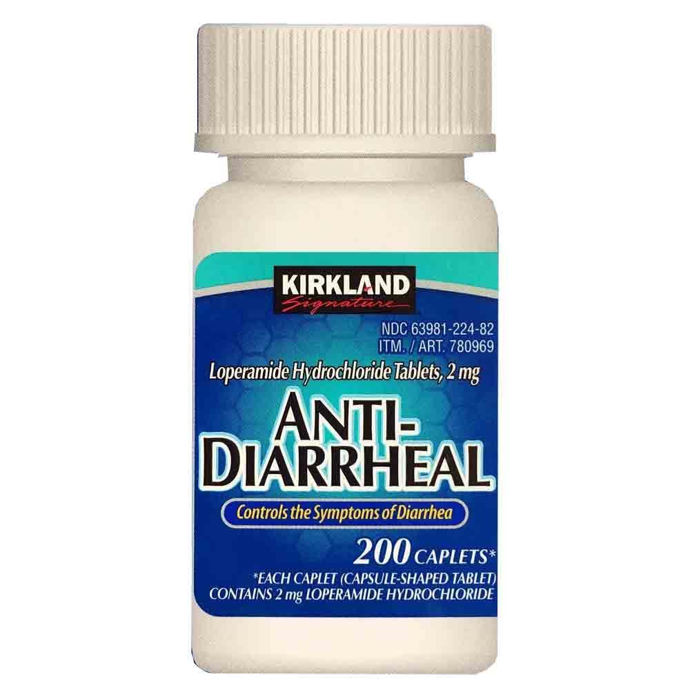 Kirkland Signature Loperamide Hydrochloride Anti-Diarrheal ...