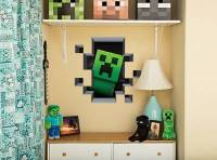 Official Minecraft Creatures Vinyl Wall Stickers/Graphics ...