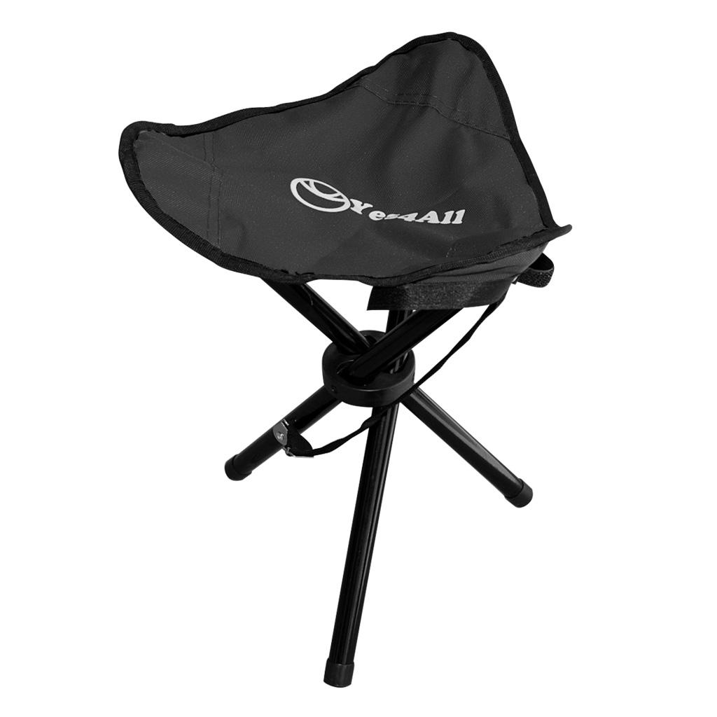 folding chair travel double camping black slacker portable stool outdoor