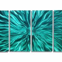 Large Contemporary Abstract Metal Wall Art Sculpture ...