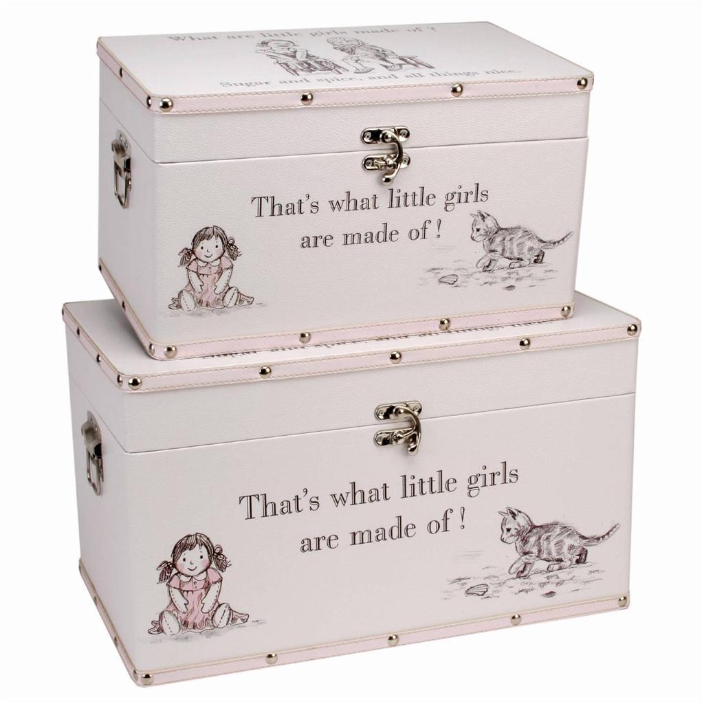 6 Cube Kids White Toy Games Storage Unit Girls Boys Childs: Girls Storage Box