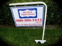 REAL ESTATE Sign Frame~Sign Holder~Real Estate~Sign Stand ...