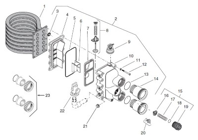 Diagram Of Sta Rite Max E Therm Heater Parts Wiring