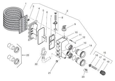 Sta-Rite Max-E-Therm MasterTemp Heater Manifold Bypass