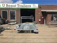 14x6.6 Tandem Car Trailer galvanised, Tire rack Australian
