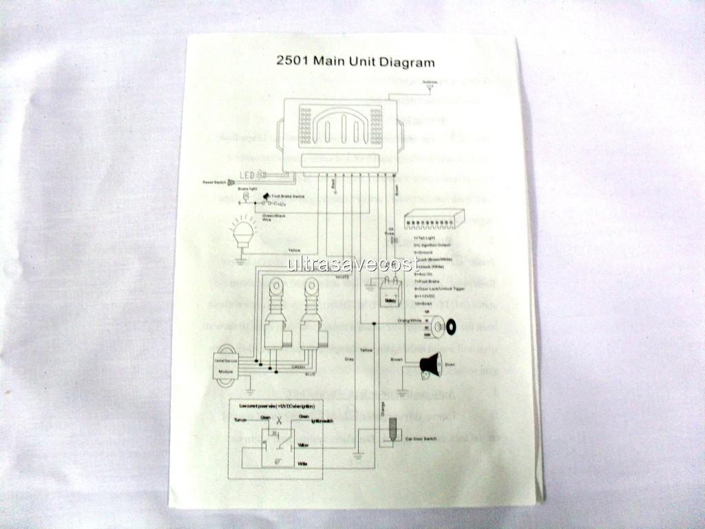 code alarm ca1053 wiring diagram 2007 chrysler 300 engine new remote car security system nib ebay