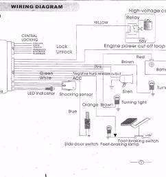 quality car alarm remotes siren shock sensor central lock [ 1280 x 930 Pixel ]