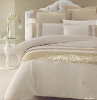 BIANCA Gold Beige Golden Sequins QUEEN/KING Quilt Doona ...