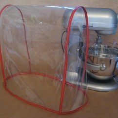 Kitchen Aid Stand Mixer Cover Cabinets Charleston Sc Clear Fits Kitchenaid Bowl Lift Red