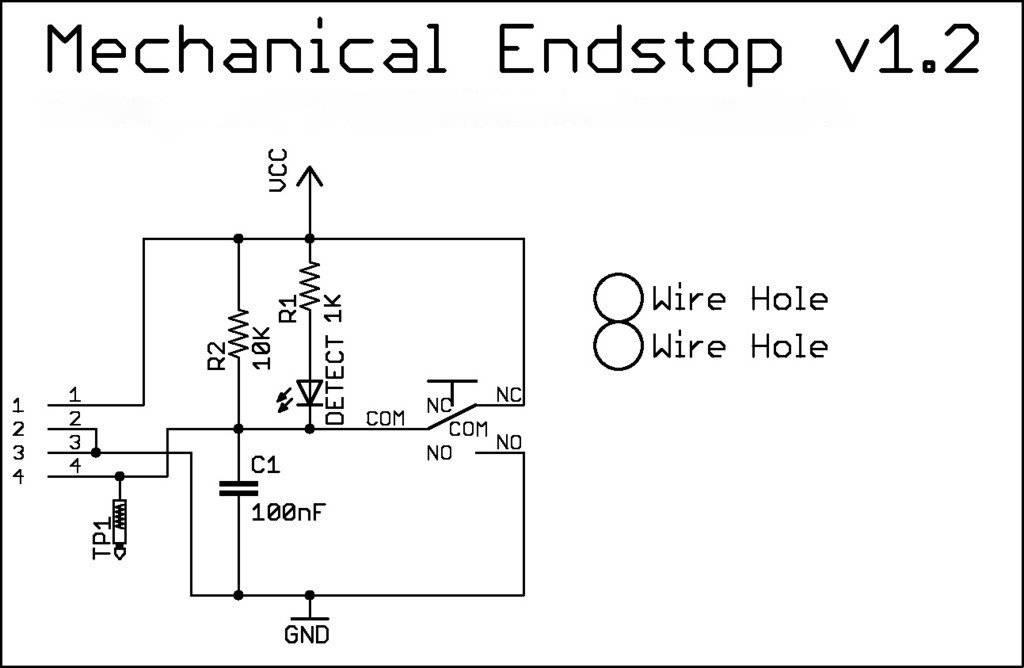 3 pcs Mechanical Endstop Module V1.2 for 3D Printer RAMPS