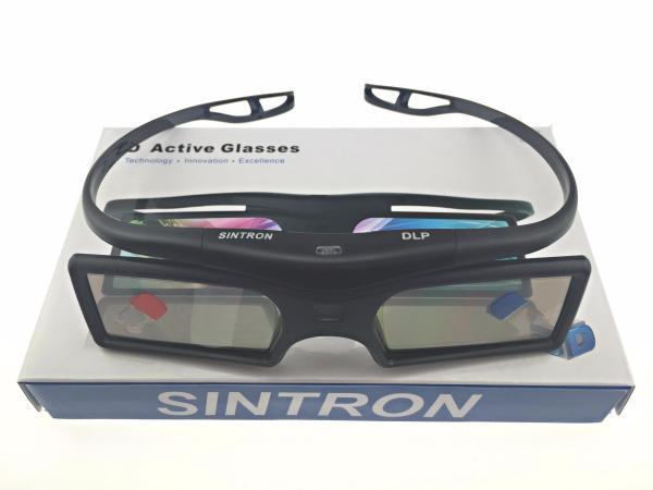 Sintron 2x 3d Active Dlp-link Glasses Eyewear - Support Main Bra Technology