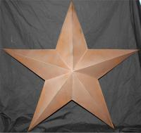 """New Americana Texas Brown Metal Star 30"""" Country Wall ..."""